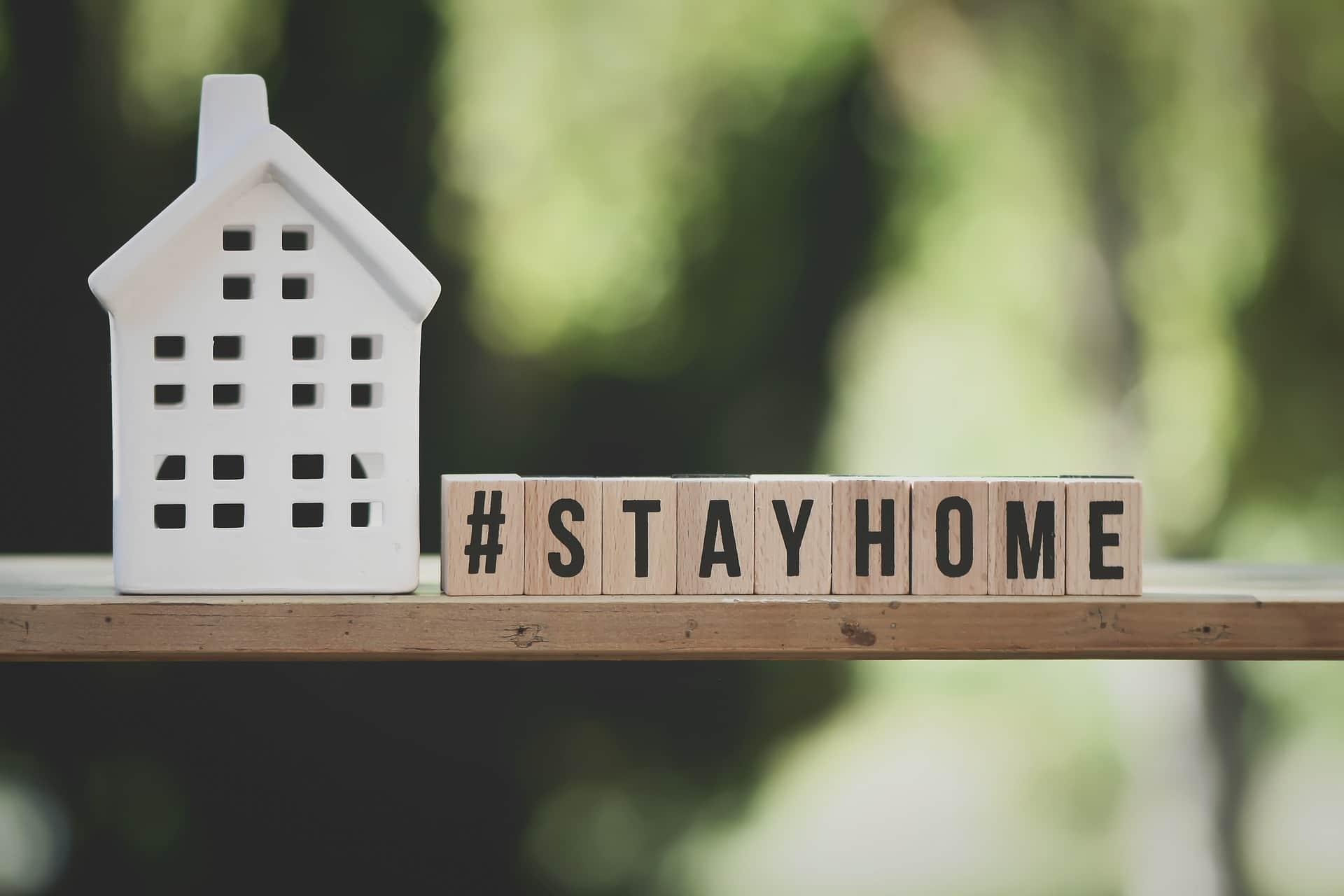 Wegen Corona zuhause bleiben