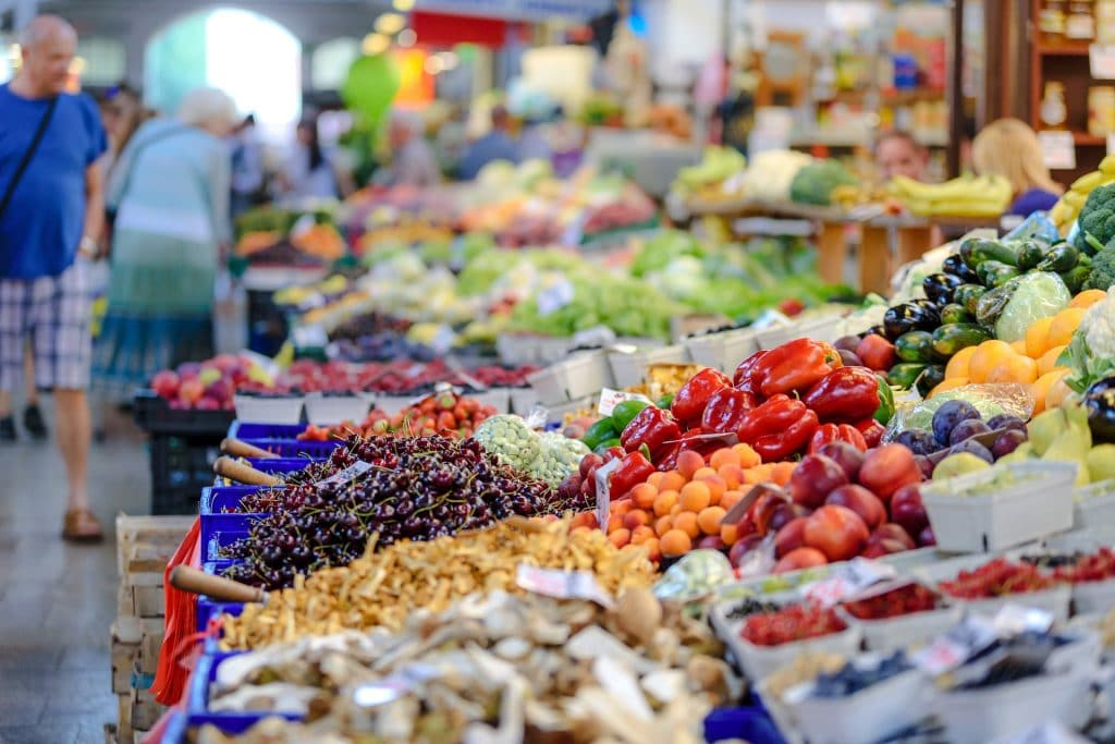 Handel mit Nahrungsmitteln