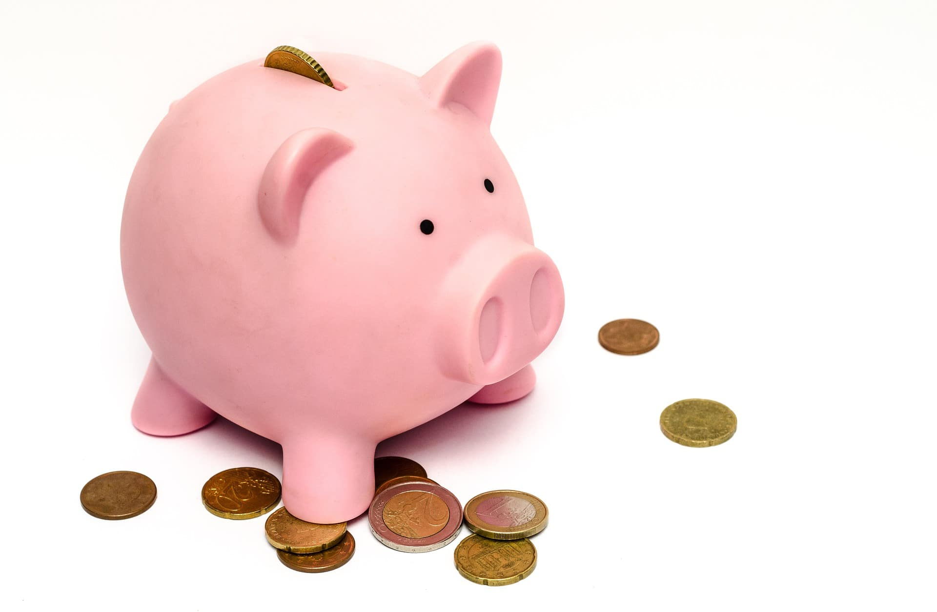Sparschwein und Geld